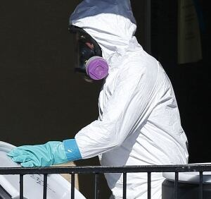 Apartment cleaning after Ebola scare