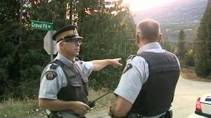 RCMP manhunt in Slocan, B.C.
