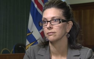 B.C. Children's Minister Stephanie Cadieux