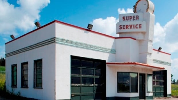 The city is talking with a group in High River about moving the historic Eamon's gas station building to that town for use as a classic-car museum.