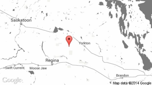 A small plane bound for Brandon, Man. was forced to make an emergency landing near a runway in a small community northeast of Regina, Sask. Friday afternoon.