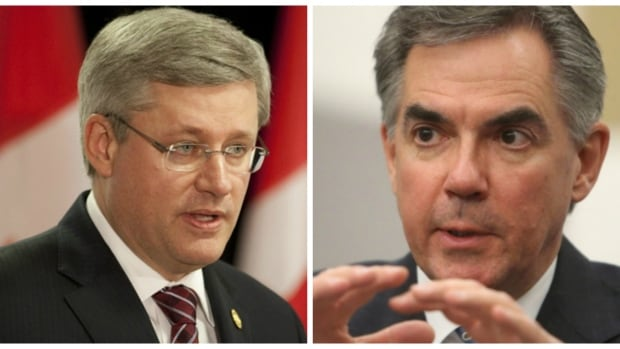 Prime Minister Stephen Harper met with Jim Prentice Friday in Calgary for the first time since he was sworn in as Alberta's premier.