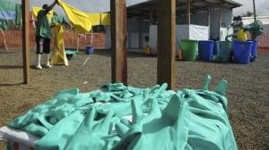 Ebola Liberia workers