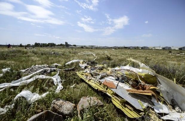 MH17 debris Ukraine