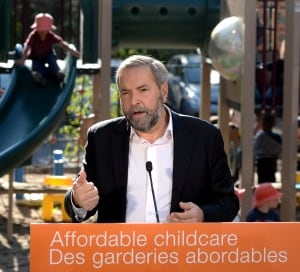 NDP Child Care - Tom Mulcair