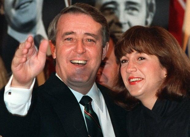 Brian and Mila Mulroney, 1988