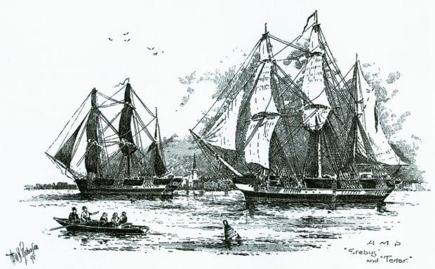 Franklin ships, Erebus and Terror