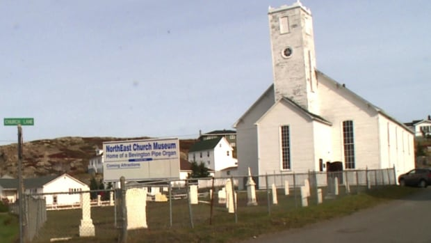 Old Church In Twillingate In Rough Shape Needs Repair
