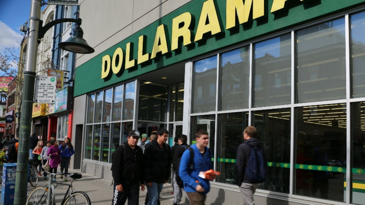 dollar tree  dollarama growing in canada - british columbia