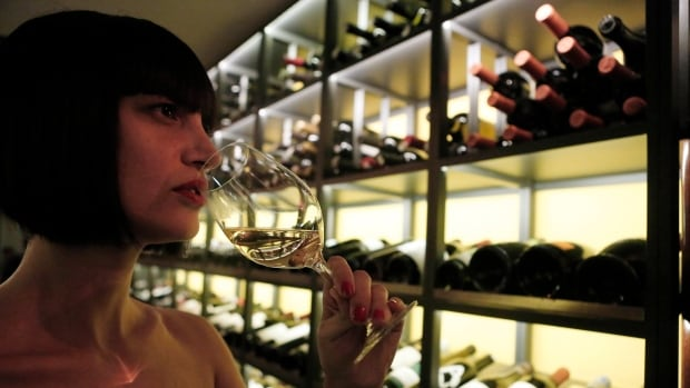 That could be you! She has bangs and lives in Athens, but there are 50 cent wine tastings at The Forks this weekend!