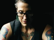 Nadia Bolz-Weber inside St. Thomas Episcopal Church in Denver, Colorado