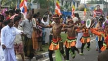 Galle procession
