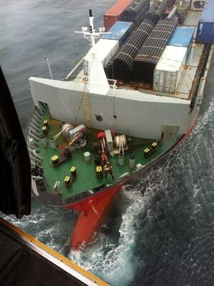Russian ship Simushir adrift off Haida Gwaii