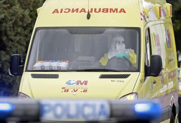 Ebola-ambulance-Madrid-RTR4AG1I