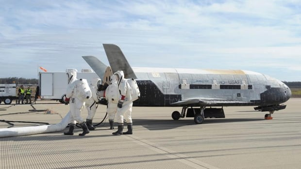 Some experts have said that the  X-37B Orbital space plane carried a payload of spy gear in its cargo bay or, was shadowing China's space lab.
