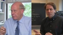profs square off over chocolate