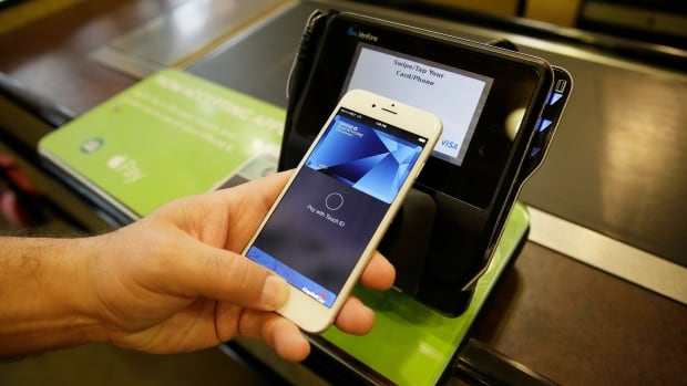 The Apple Pay technology allows users of the newest models of iPhones and iPads to charge purchases through their devices on credit card accounts without having to show their card or account number.