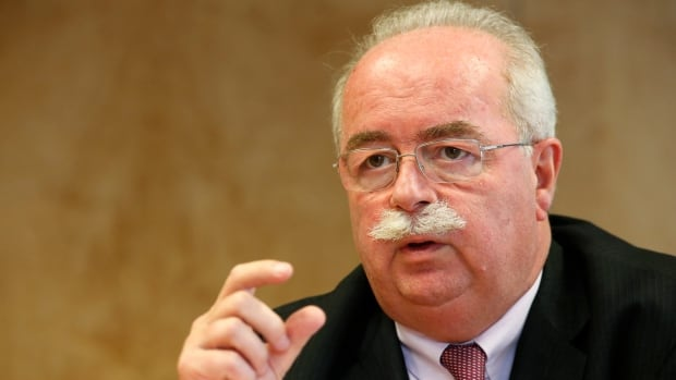 Christophe de Margerie, CEO of the French oil and gas company Total SA, is shown speaking during an interview with Reuters in Paris on July 7, 2014.