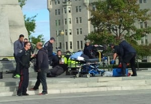 Ottawa War Memorial shooting