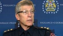 Calgary police Chief Rick Hanson