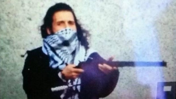 Police sources confirmed this image tweeted from an ISIS account depicts Michael Zehaf-Bibeau.