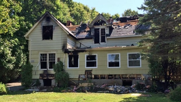 Kennebecasis Valley Fire Department firefighters had to wait an extended period of time before reinforcements arrived at this house fire in late August.
