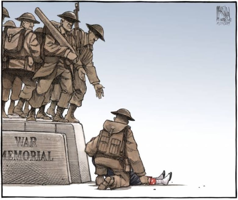Vancouver Artist S Cartoon Of Florida School Shooting: Bruce MacKinnon's Moving Cartoon Ran In The Chronicle