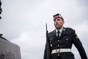 Nathan Cirillo at National War Memorial