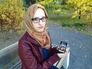 U of C student Safa Abida