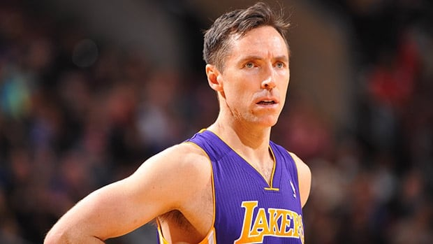 Two-time NBA MVP Steve Nash has played in only 65 games since the Lakers traded for him in 2012.