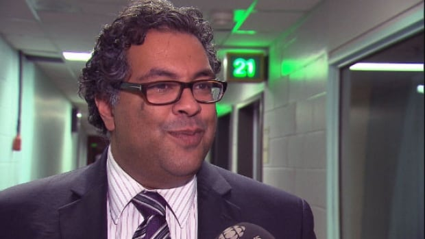 Calgary mayor Naheed Nenshi was in Montreal on Friday to try and convince Montrealers to move west