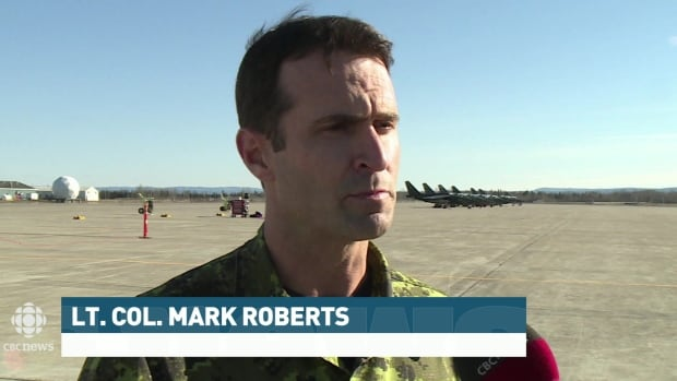 Lieutenant Colonel Mark Roberts says it took over a year to plan the exercises, and that 5 Wing Goose Bay's facilities and geography make it a valuable location for the training.