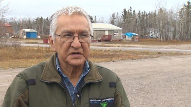Chief Joachim Bonnetrouge of the Deh Gah Got'ie First Nation in Fort Providence, N.W.T., says 'As far as we're concerned the Church is still on the hook.'
