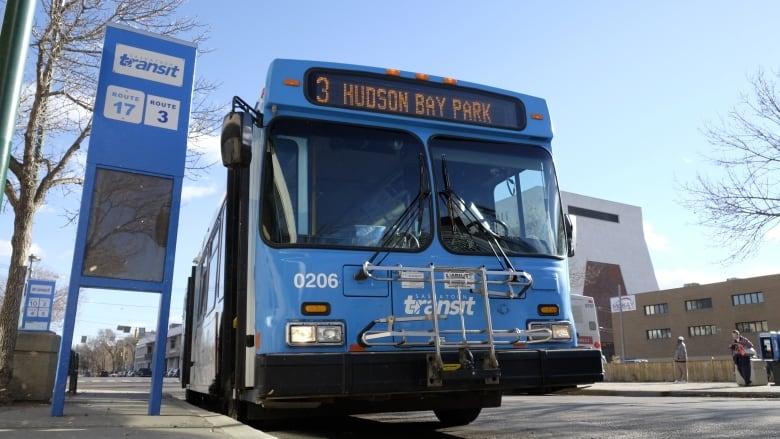 Mass transit buses transportation commuters Saskatoon