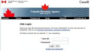 CRA website
