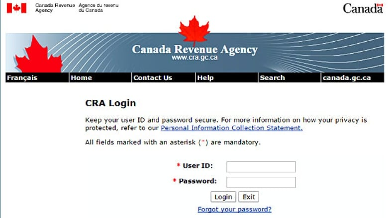 Canada Revenue Agency Shuts Down Online Services After Discovering Internet Vulnerability Cbc News