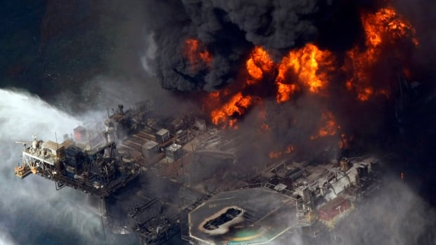 The Deepwater Horizon rig blew on April 20, 2010, and spewed 651 million litres of oil into the Gulf through the summer.