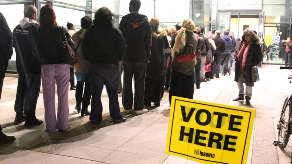 Why should people vote in elections?