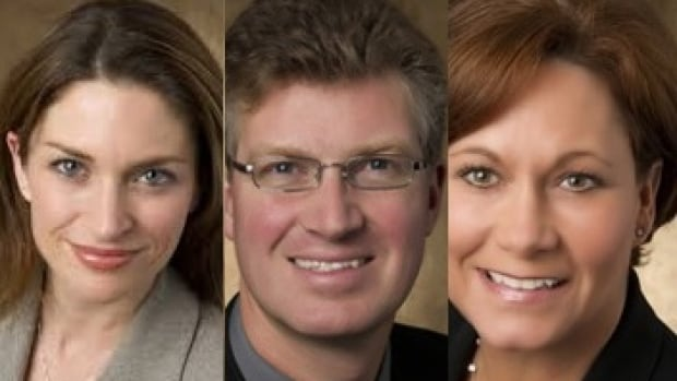 Manitoba cabinet ministers Erin Selby (left to right), Andrew Swan and Theresa Oswald have added their voices to the chorus of concern in the Manitoba NDP.
