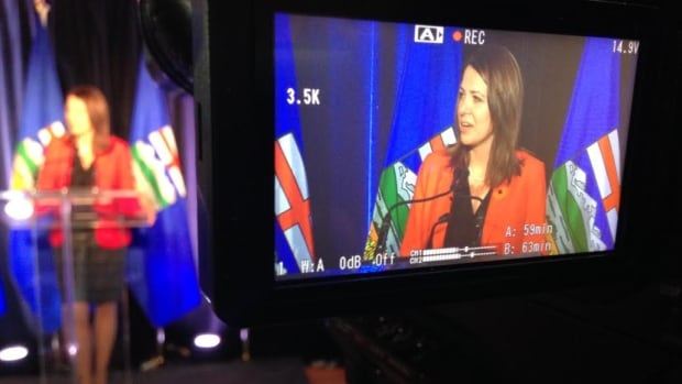Wildrose Party Leader Danielle Smith says she has asked her party's president to include a leadership review vote after the party lost all four byelection contests on Monday.