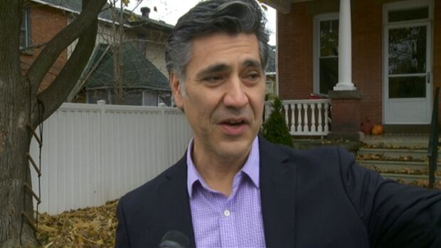 Louis Antonakos defeated mayor Wendy Leblanc in Carleton Place, Ont., in 2014. He has refused to speak directly to media since last spring.