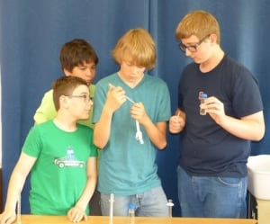 Kamloops NASA science experiment - Jordan Brown, Hunter Galbraith, Kieren O'Neil, and Ryan Watson