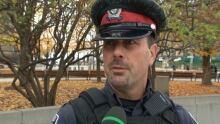 Ottawa police Const. Santiago De Los Santos shootings one week later National War Memorial Oct 29 20
