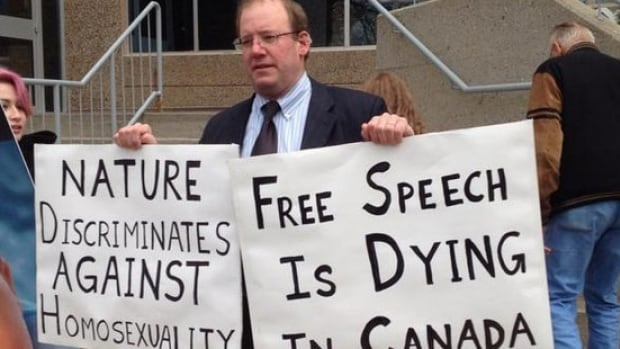 Peter LaBarbera, who was charged with mischief following a dispute at the University of Regina during the spring, was found not guilty on Monday.