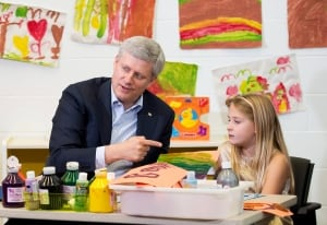 Stephen Harper child care benefits