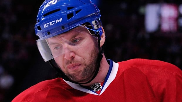 Thomas Vanek spent time with the Montreal Canadiens last season before leaving for the Minnesota Wild as a free agent in the summer.