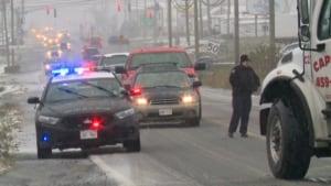 New Brunswick road conditions