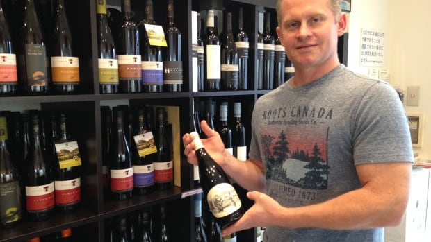 Jamie Paquin moved to Tokyo four years ago and has seen success selling only Canadian wine to a Japanese market that seems to have an unquenchable thirst for it.