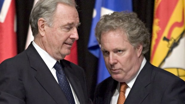 Former prime minister Paul Martin and former Quebec premier Jean Charest are among the high-profile members of the new EcoFiscal Commission.