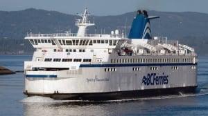 BC Ferries has busiest spring season ever